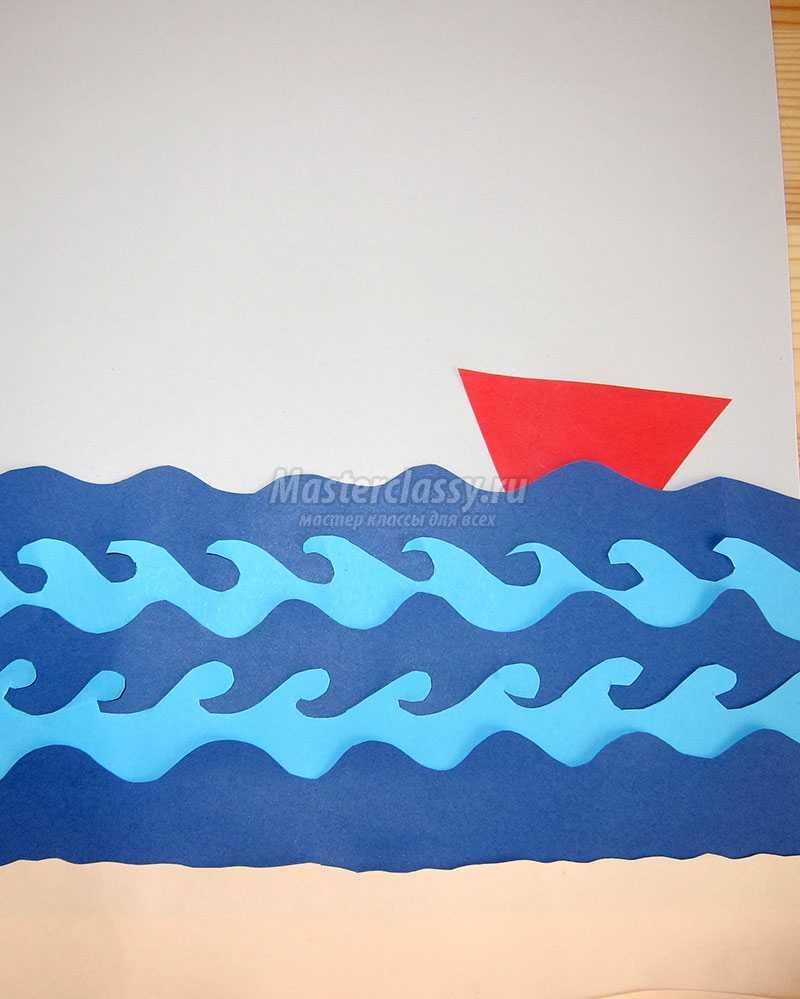 Поделка из бумаги на морскую тему 65