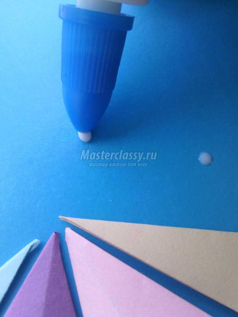 Аппликации для детей зонтик