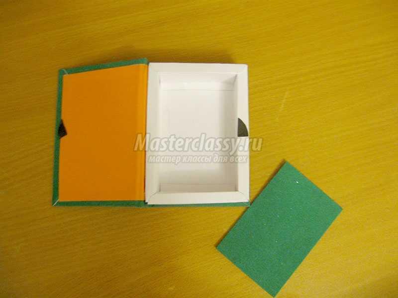 Как сделать коробочку из картона с фото