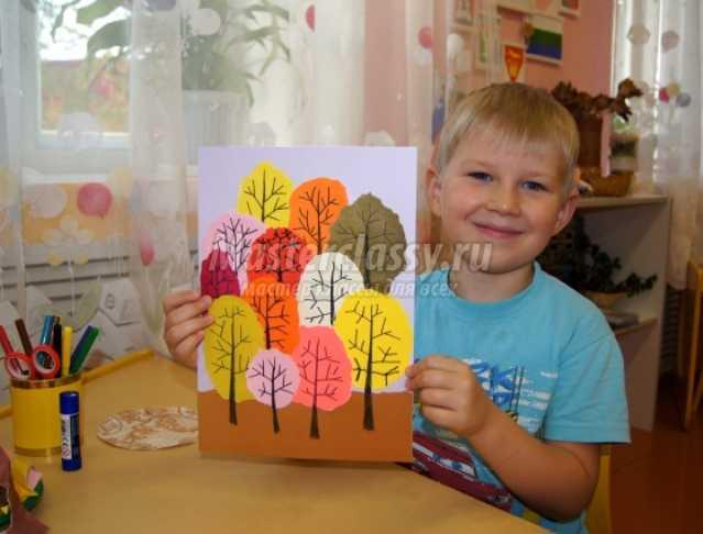 Картинки осени с ребятишками
