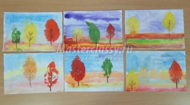 Аппликация на тему осень: фото, идеи и мастер-классы