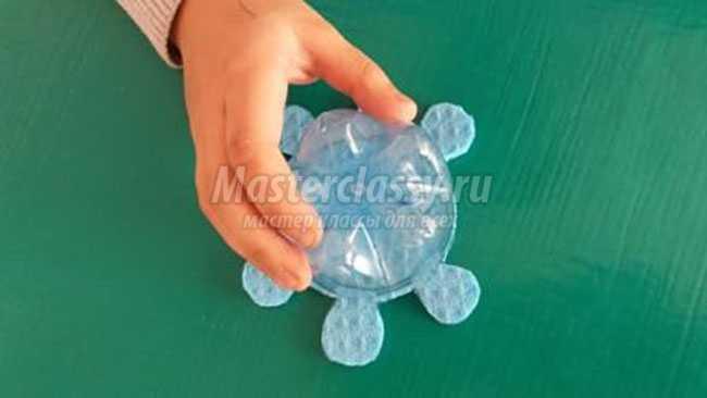 Поделки черепашки из пластиковой бутылки