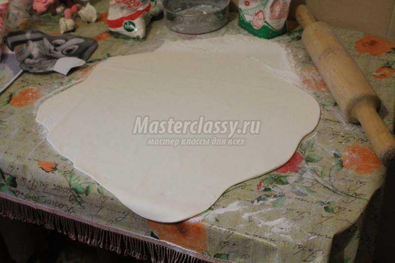 Дрожжевое тесто с сухими дрожжами рецепт с пошагово