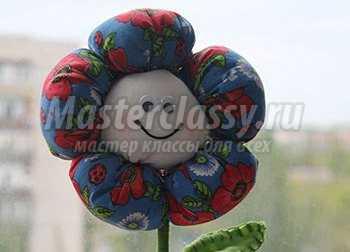 Цветы из ткани своими руками, 10 простых способов. МК oblacco 23