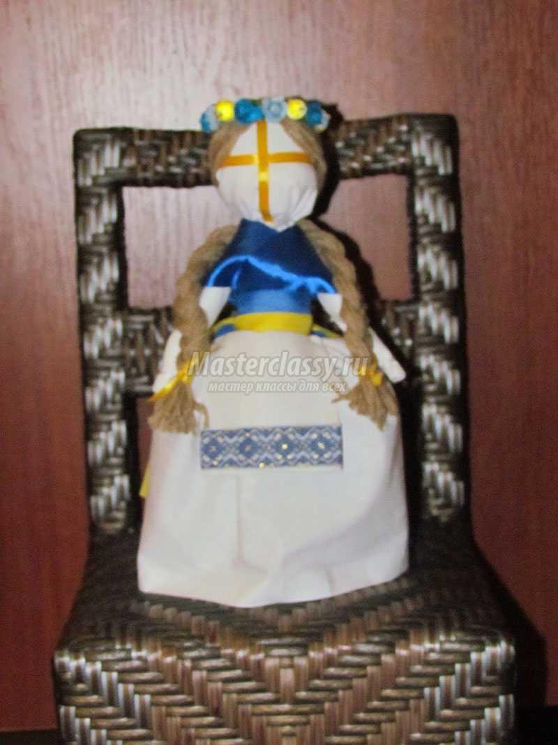 лялька мотанка узелкова пошаговая инструкция