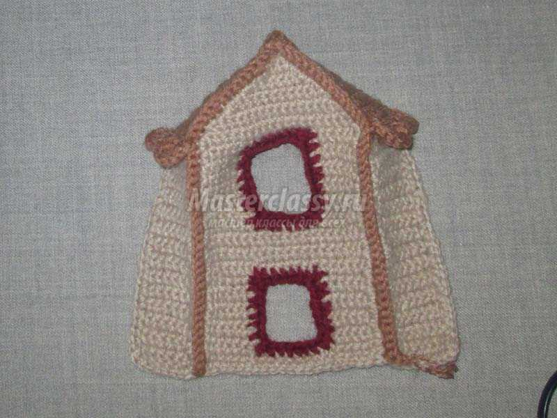 вязание пальчиковой игрушки