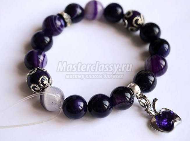 Мастер класс браслеты из натуральных камней своими руками