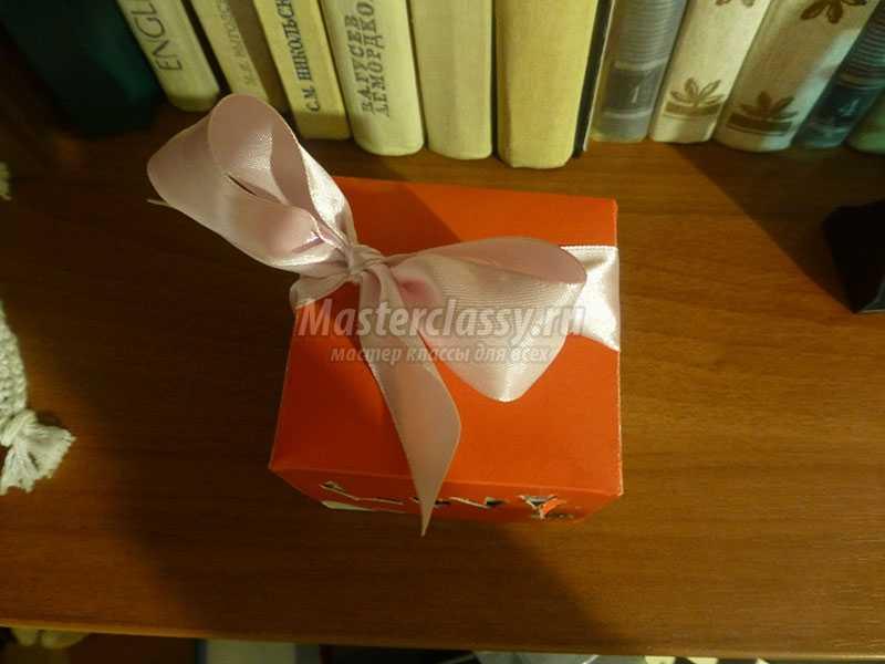 Мастер класс подарочной коробочки своими руками