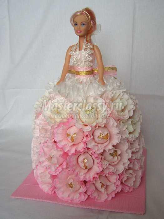 Кукла с конфетами своими руками мастер класс