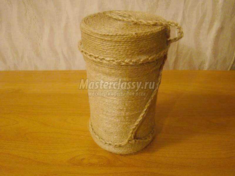 Изделия льняного шпагата своими руками 24