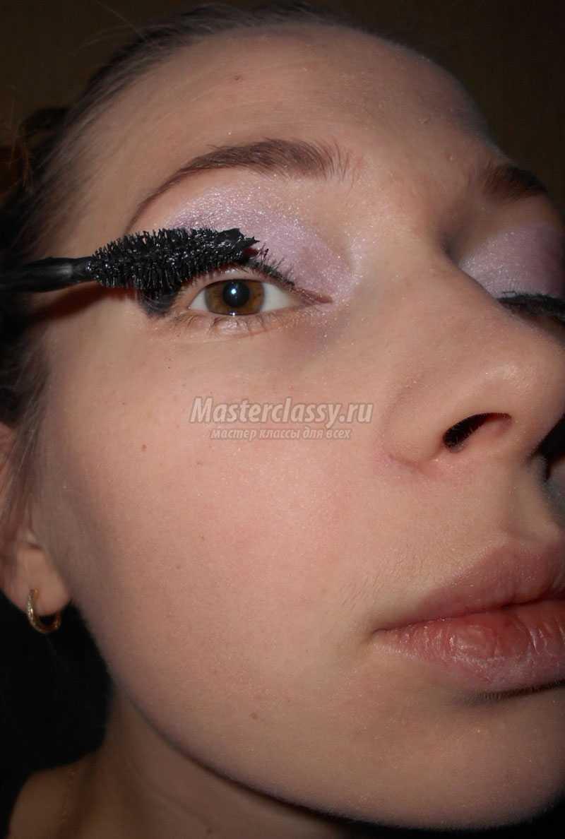 Вечерний макияж фото мастер класс