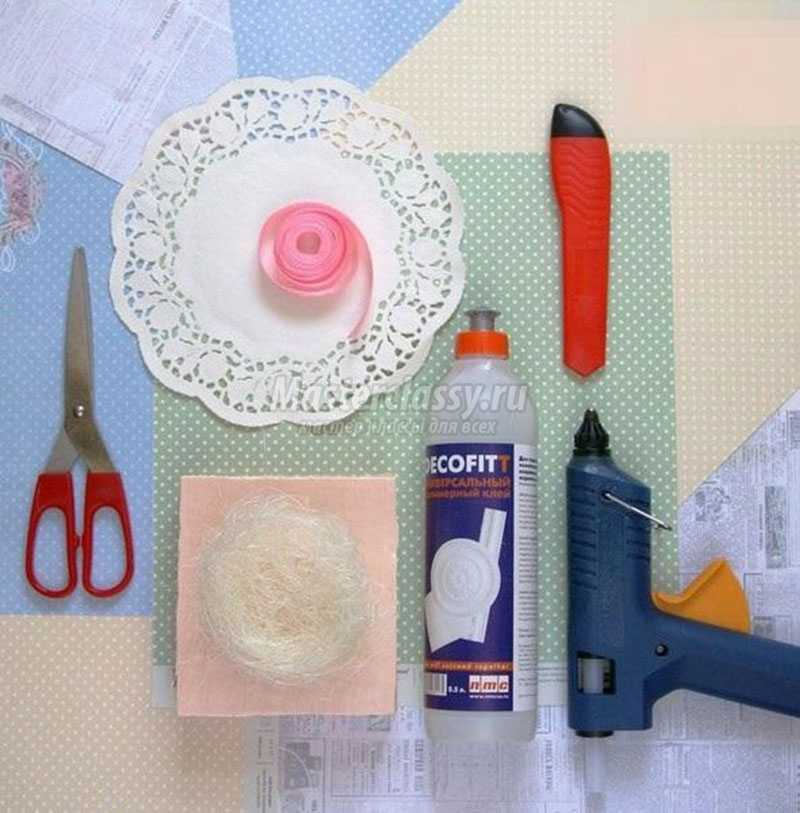 поделки из подручных материалов