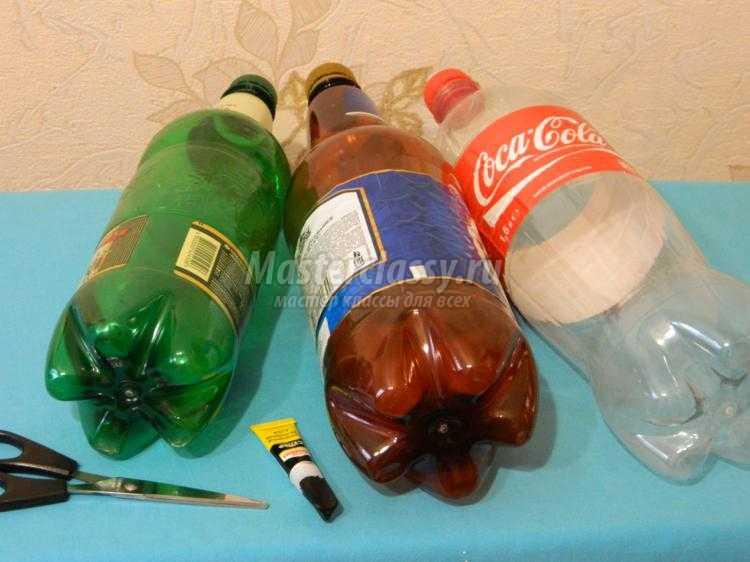 Как сделать аквариум из бутылок