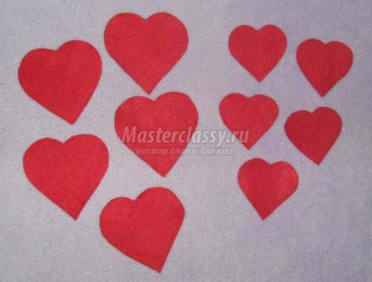 Валентинки своими руками мастер класс фото