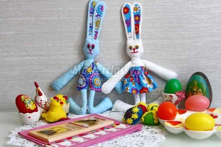 Выкройки мягких игрушек зайцев тильда
