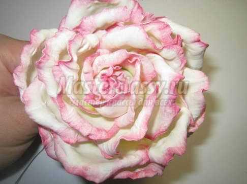 Роза своими руками из фоамирана