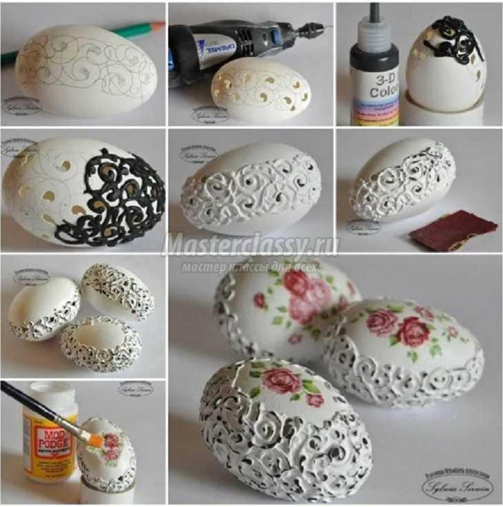 Яйцо пасхальное бисера мастер класс фото #13