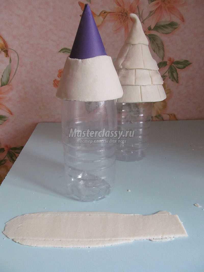 домики из соленого теста