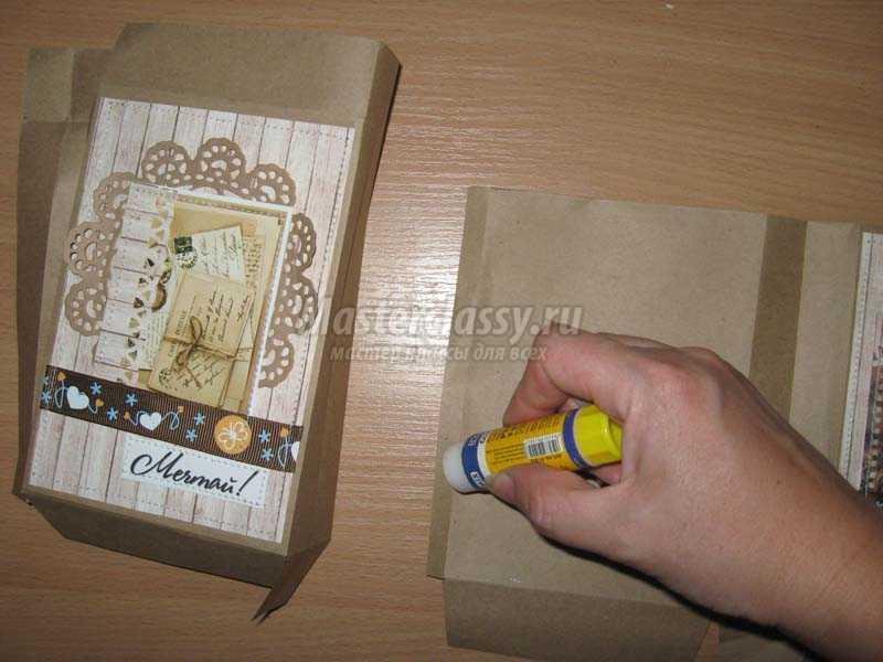 пакет из крафт бумаги своими руками