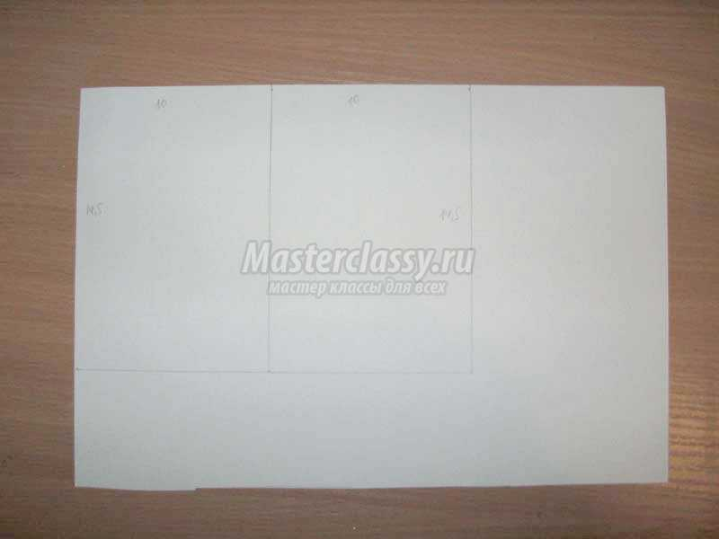 бумажный пакет из крафт бумаги