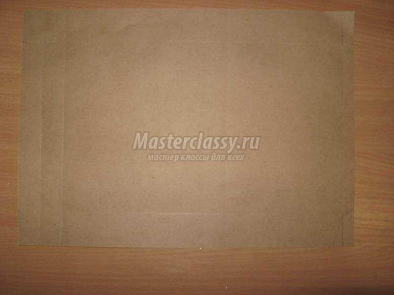 пакеты из крафт бумаги