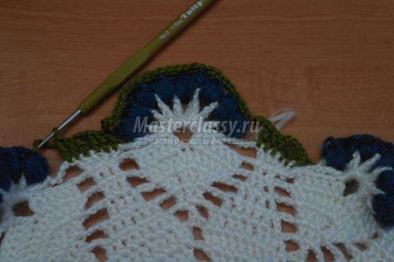 салфетки вязанные крючком