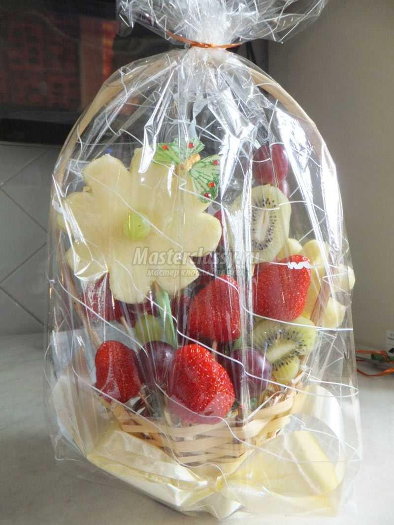 Букет из фруктов мастер класс пошагово