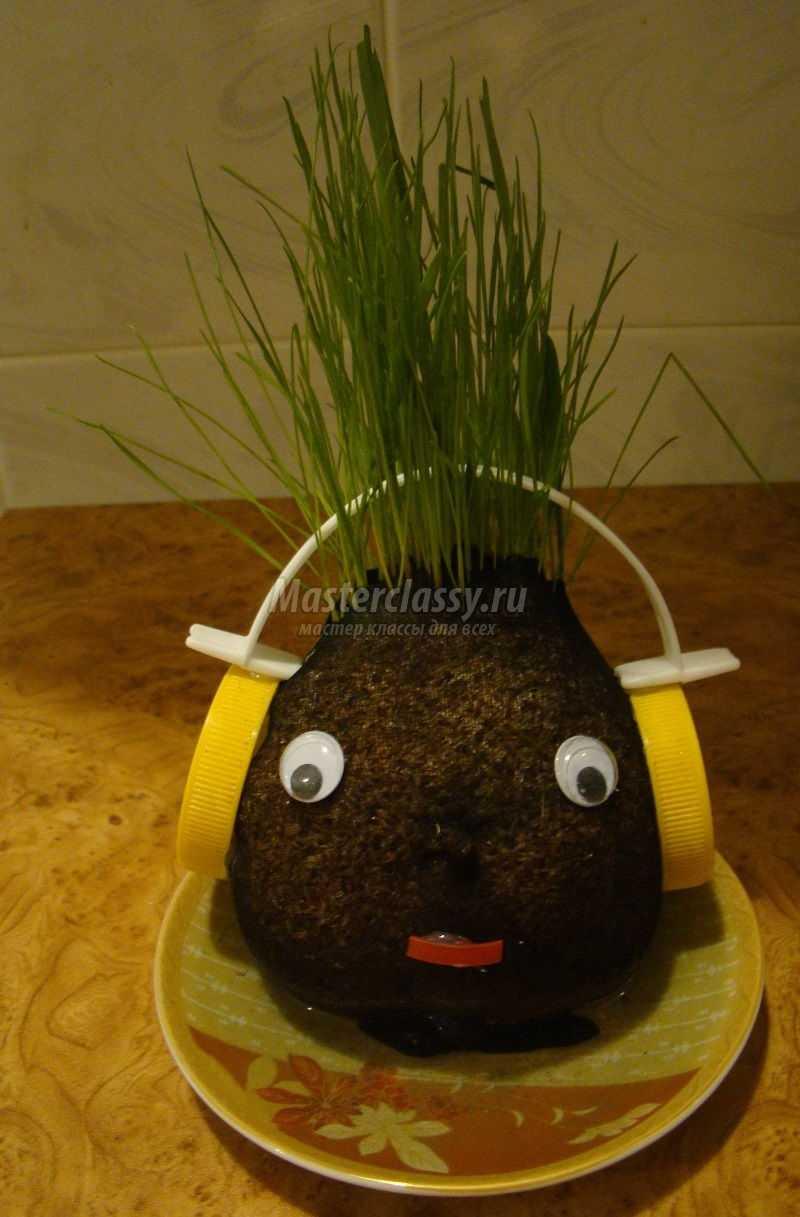 Ежик травянчик своими руками 40
