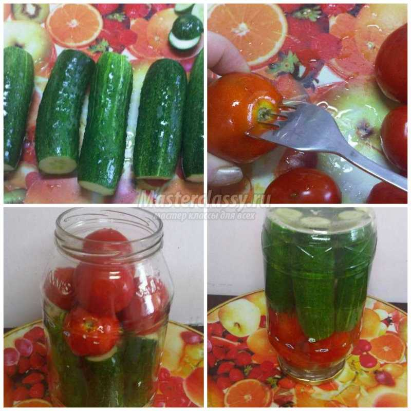 Ассорти из огурцов и помидоров: готовим на зиму. Лучшие рецепты