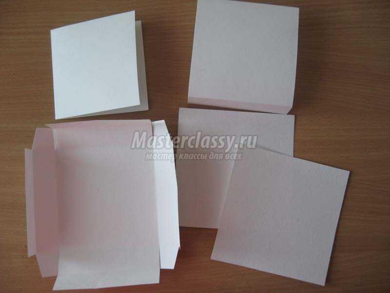 Мастер-класс коробочка для открытки