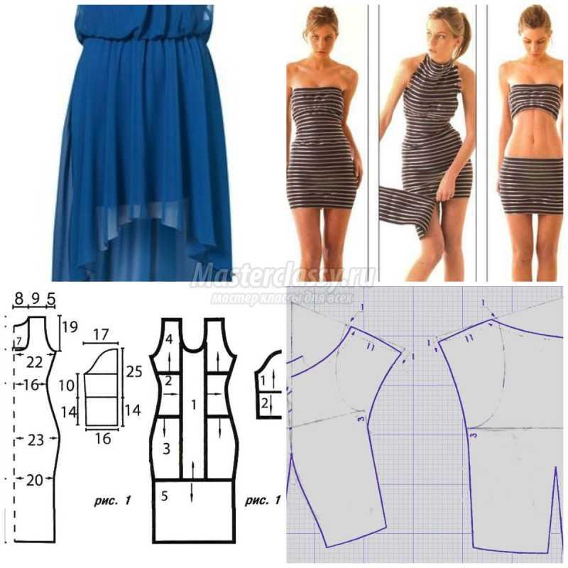Как сшить платье из шитья своими руками 14