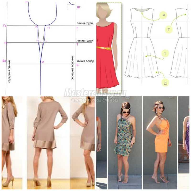 Сшить платье своими руками мастер клас