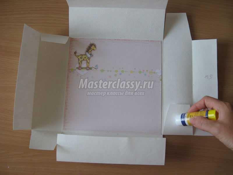 коробочка руками поэтапно