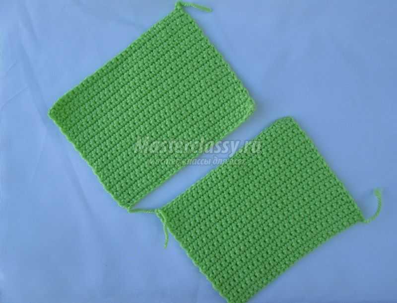 Вязание ручек для сумочки