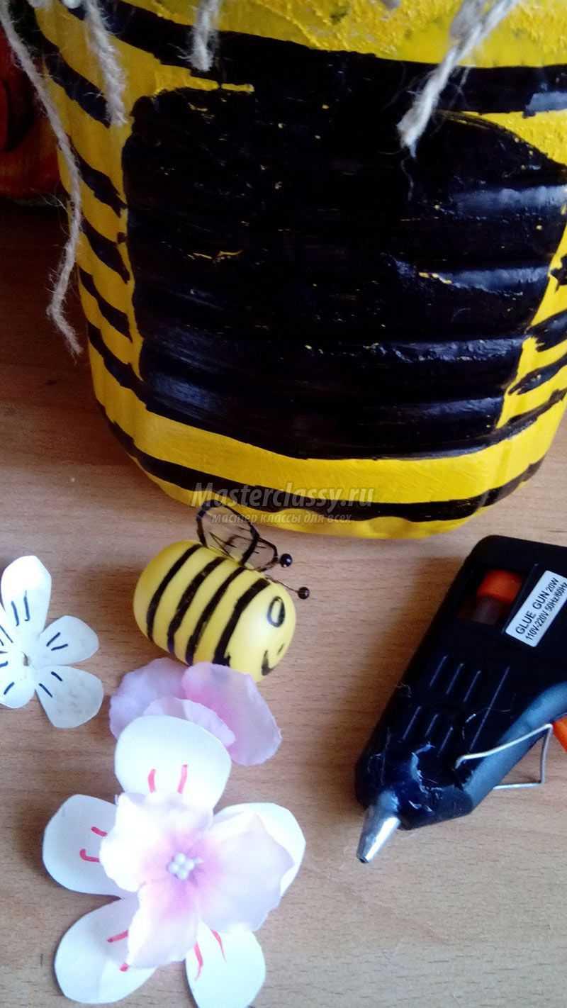 Мастер класс пчела из пластиковых бутылок своими руками 61