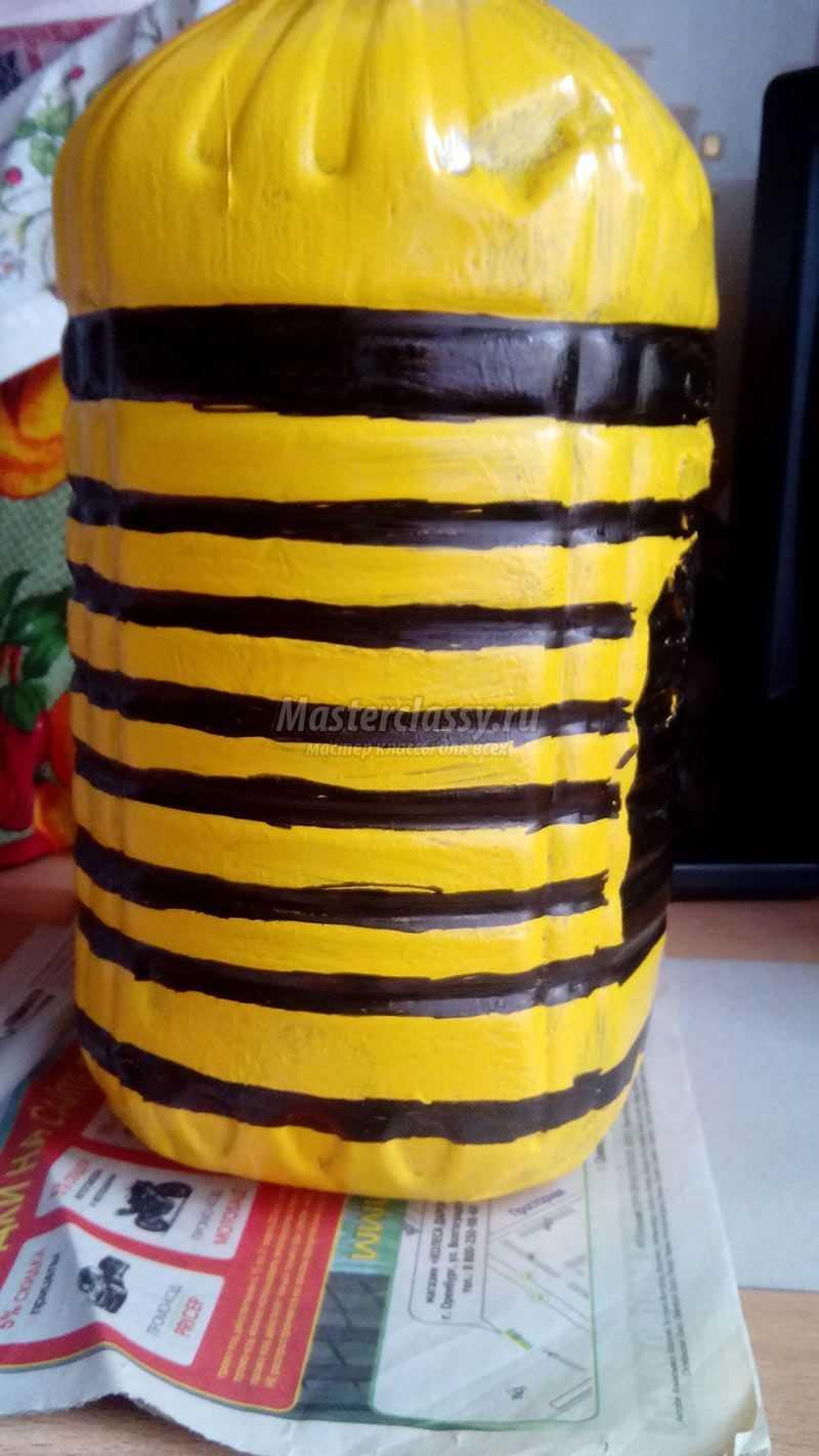 Пчела из пластиковых бутылок » Чудесенка - Сайт для детей и 21