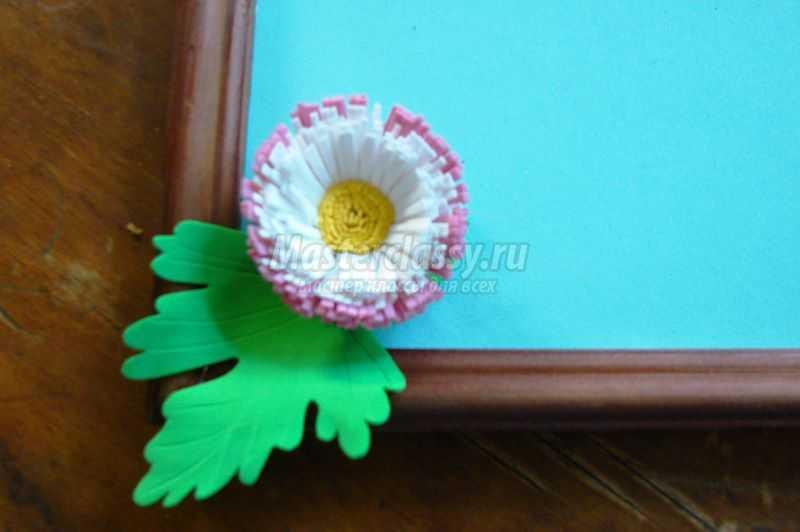 Картина цветок в руках