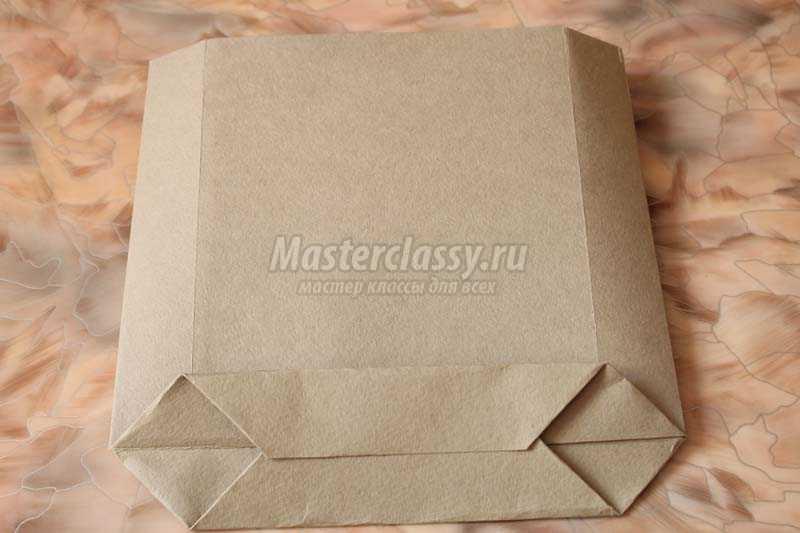 подарочный пакет своими руками