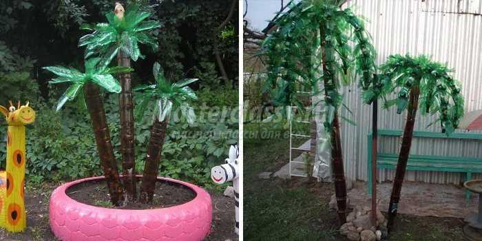 Как своими руками сделать пальму