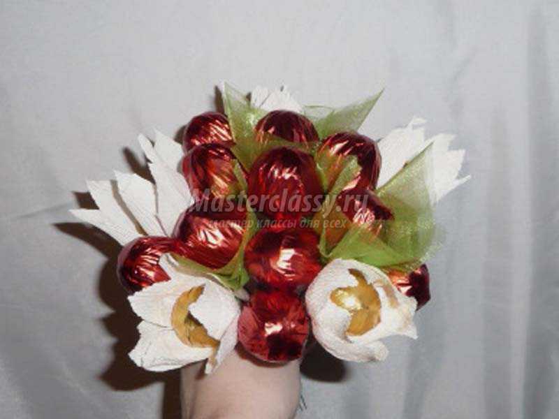 Ягоды из конфет своими руками пошаговое фото 100