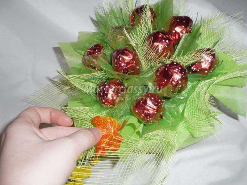 Корзинки с конфетами своими руками с пошаговым