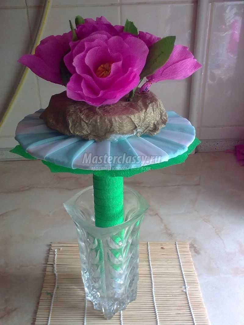 Мастер-класс по изготовлению конфетного букета с пошаговыми фото