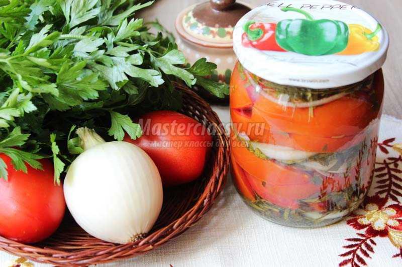Закуска из помидор на зимуы