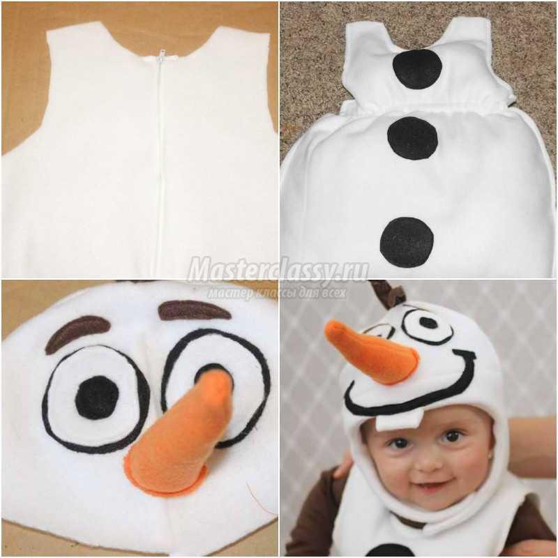 Как сделать снеговика костюм своими руками