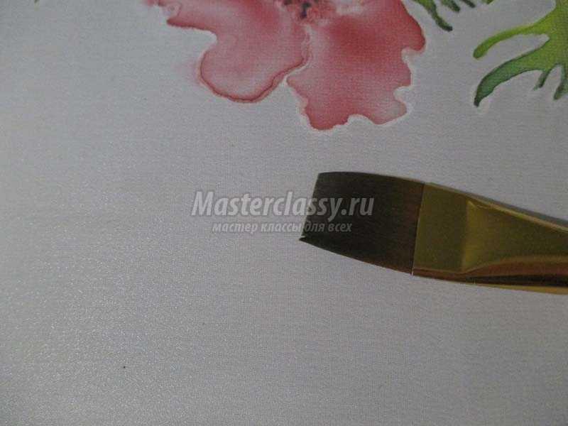 роспись батиком по ткани