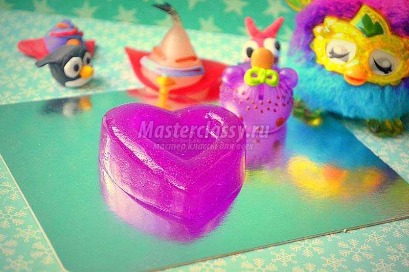 как сделать мыло желе