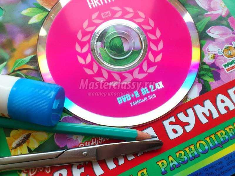 поделки из сд дисков