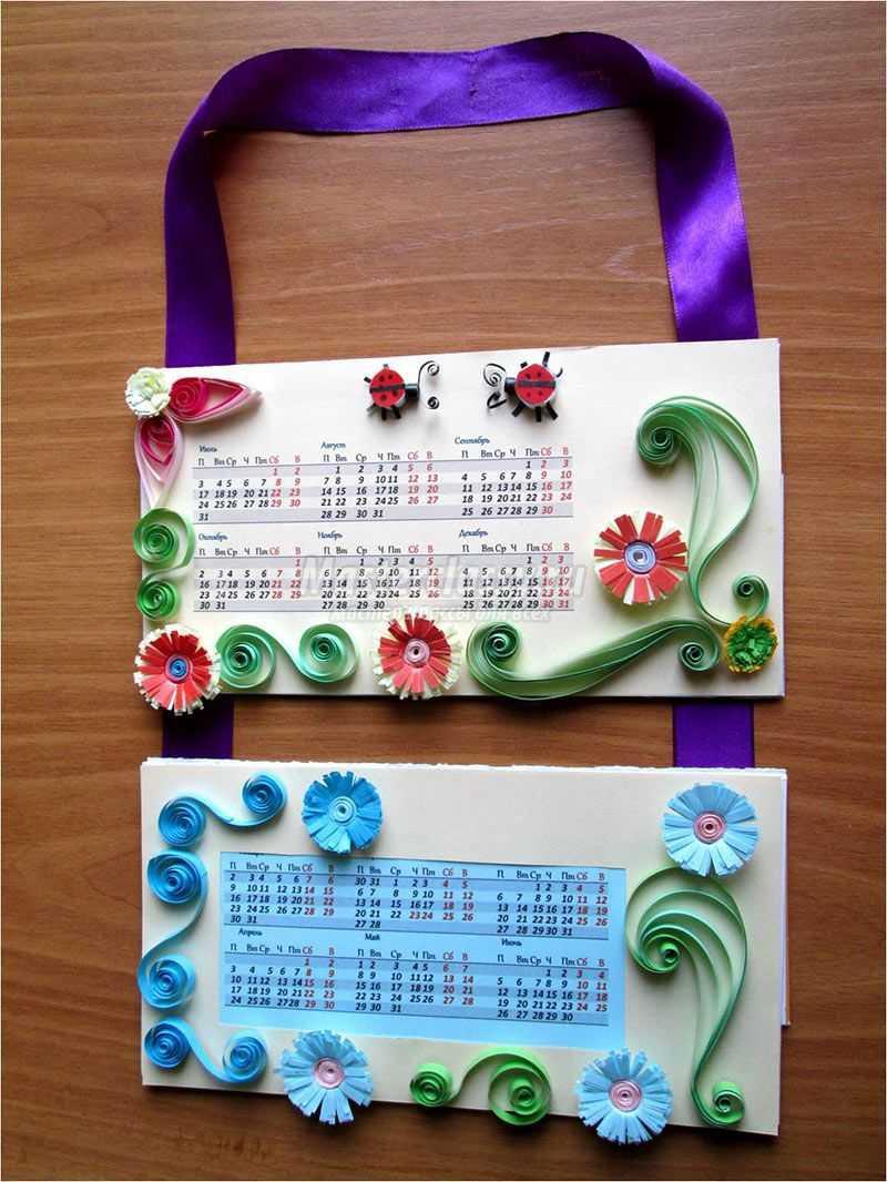 Календарь сделать своими руками 413