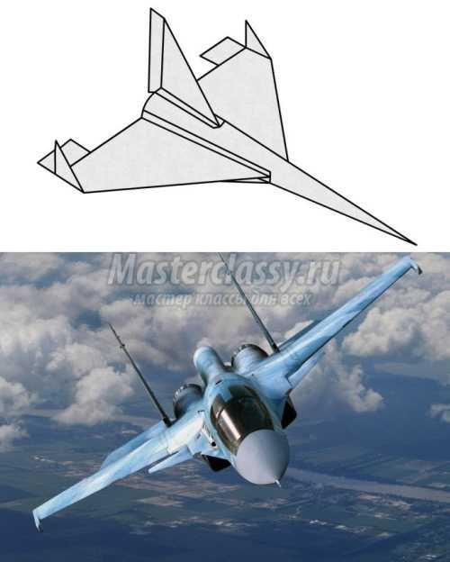 Как сделать из бумаги самолет который летает