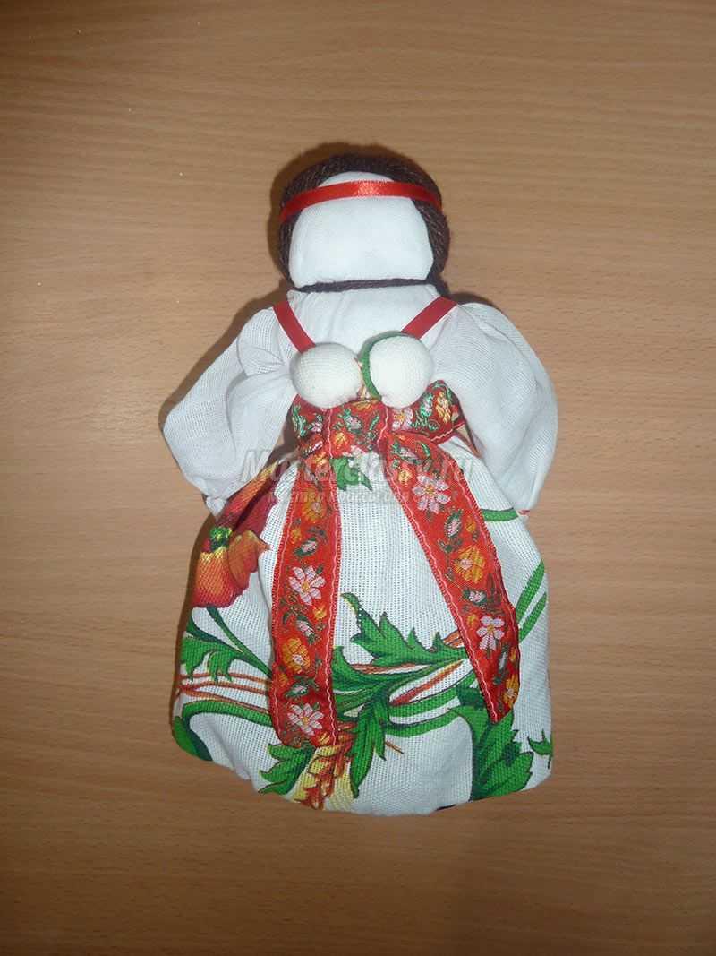 народная кукла перевертыш